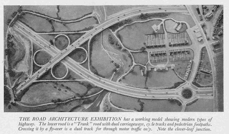 RoadArchitecExhibitionRIofBritArch66PortlandPlIllustrated Sporting and Dramatic News10March1939