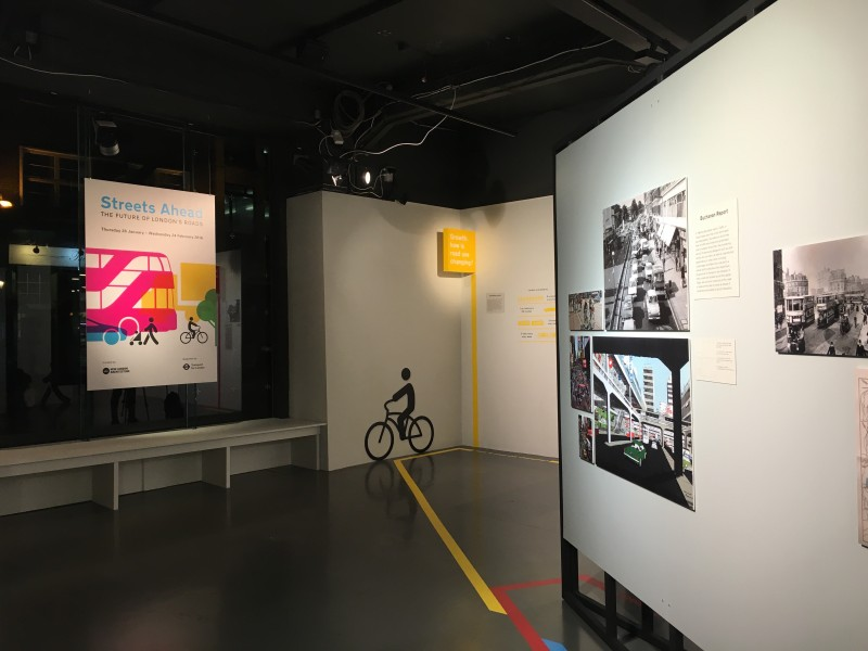 Cycling is prominently featured at Streets Ahead